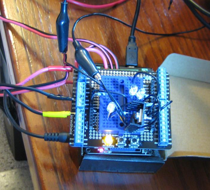 Digital Rotator Controller For Arduino  Using K3ng Firmware